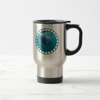 Manatee Stainless Travel Mug
