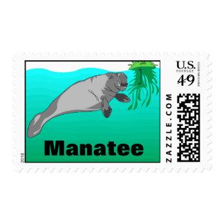 Manatee Stamp