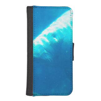 Manatee subacuático fundas tipo billetera para iPhone 5