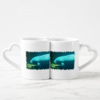 Manatee Swimming Lovers Mug