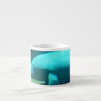 Manatee Swimming Specialty Mug Espresso Cup