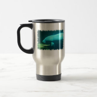 Manatee Swimming Travel Mug