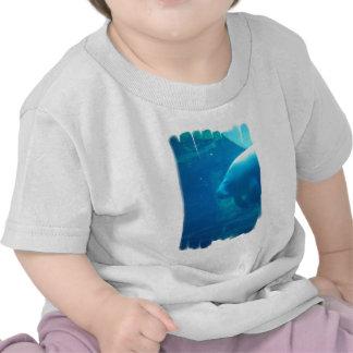 Manatee Underwater Baby T-Shirt