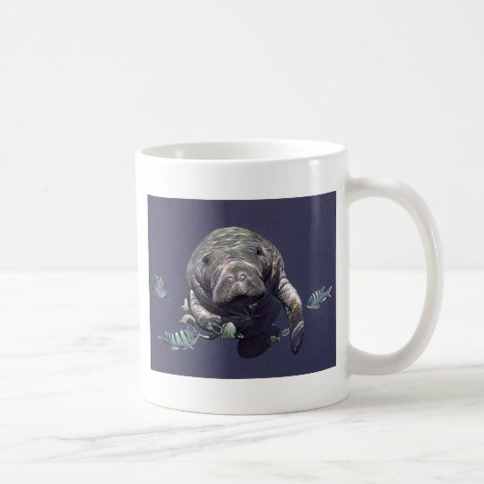 Manatee Underwater World Coffee Mug