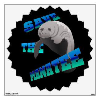 Manatee Room Sticker