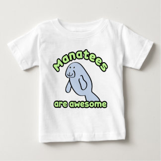 Manatees Are Awesome Baby T-Shirt