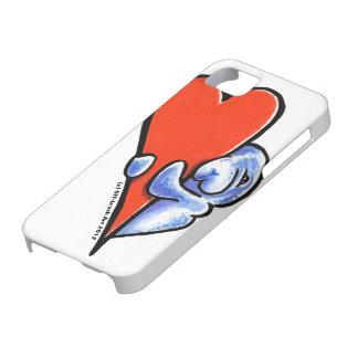 Manatees del amor iPhone 5 carcasa