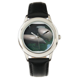 Manatees flotantes reloj de mano