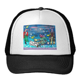 Manatees Inhumanatee Funny Tees Mugs Cards Etc Trucker Hats