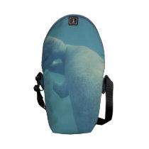 Manatees Messenger Bag