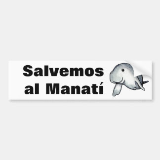 Manati-SB01 Pegatina Para Auto