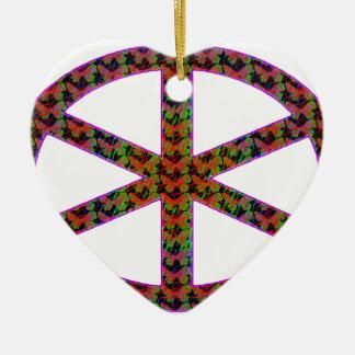 Manat's wheel of fate ceramic ornament