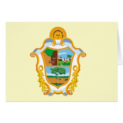 Manaus Amazonas bandera del Brasil, el Brasil Tarjeta De Felicitación