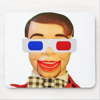 Manboy 3D Glasses Mouse Pad