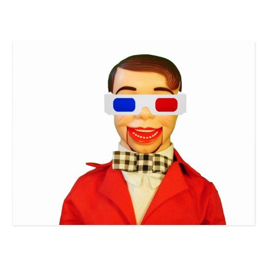 Manboy 3D Glasses Postcard
