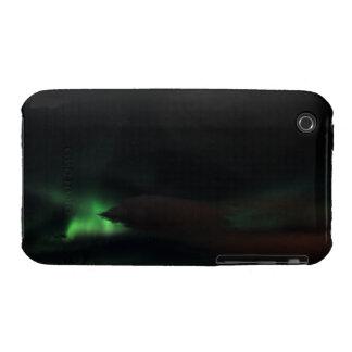Mancha de la aurora boreal funda para iPhone 3