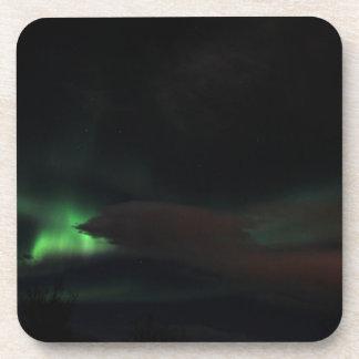 Mancha de la aurora boreal posavasos