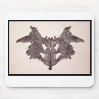 Mancha de tinta 1,0 de Rorschach Alfombrillas De Raton