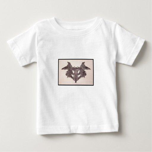 Mancha de tinta 1,0 de Rorschach Polera