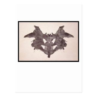 Mancha de tinta 1,0 de Rorschach Tarjeta Postal