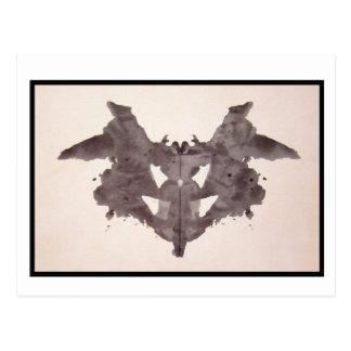 Mancha de tinta 1,0 de Rorschach Postal