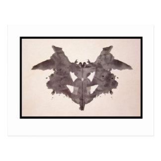 Mancha de tinta 1,0 de Rorschach Tarjetas Postales
