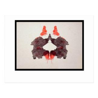 Mancha de tinta 2,0 de Rorschach Postal