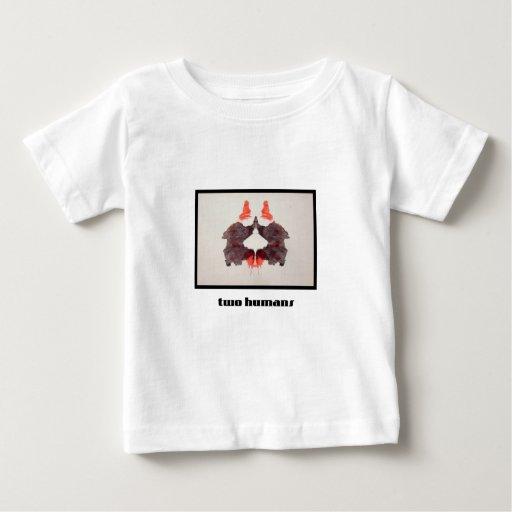 Mancha de tinta 2 de Rorschach Playera Para Bebé