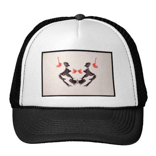 Mancha de tinta 3,0 de Rorschach Gorros Bordados
