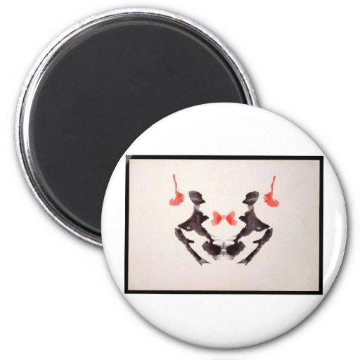 Mancha de tinta 3,0 de Rorschach Iman De Frigorífico