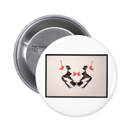 Mancha de tinta 3,0 de Rorschach Pin