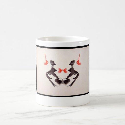Mancha de tinta 3,0 de Rorschach Tazas