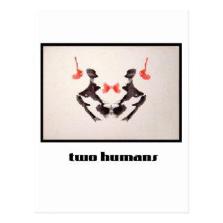 Mancha de tinta 3 de Rorschach Postal