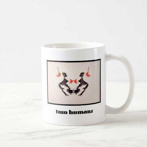 Mancha de tinta 3 de Rorschach Taza De Café