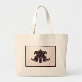 Mancha de tinta 4,0 de Rorschach Bolsa Tela Grande