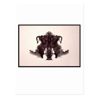 Mancha de tinta 4,0 de Rorschach Postal