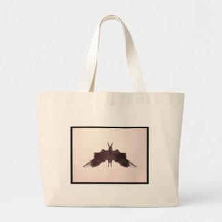 Mancha de tinta 5 0 de Rorschach Bolsa De Mano