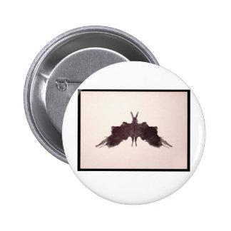Mancha de tinta 5 0 de Rorschach Pins