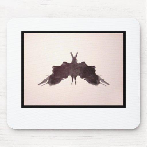 Mancha de tinta 5,0 de Rorschach Alfombrillas De Raton