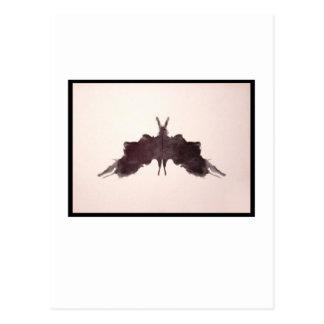Mancha de tinta 5 0 de Rorschach Tarjetas Postales