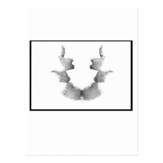 Mancha de tinta 7,0 de Rorschach Tarjeta Postal