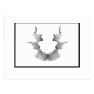 Mancha de tinta 7,0 de Rorschach Tarjetas Postales