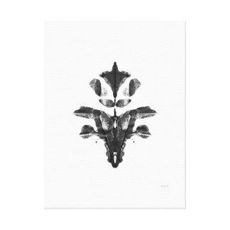 Mancha de tinta #7 impresión en lona estirada