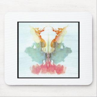 Mancha de tinta 9,0 de Rorschach Tapetes De Raton