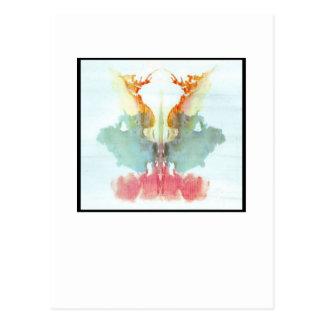 Mancha de tinta 9,0 de Rorschach Postal