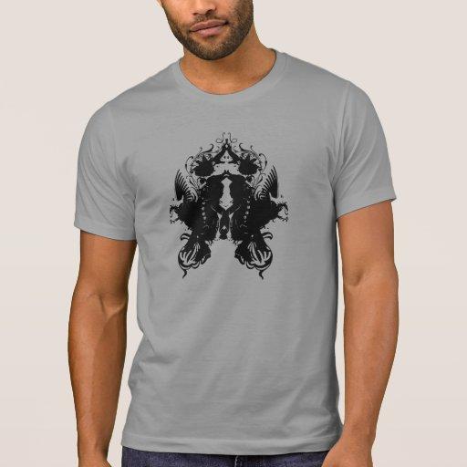 Mancha de tinta camiseta