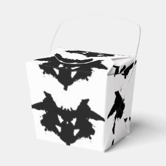 Mancha de tinta de Rorschach Caja Para Regalos De Fiestas