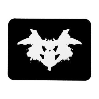 Mancha de tinta de Rorschach Imán De Vinilo