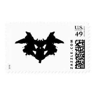 Mancha de tinta de Rorschach Sellos Postales