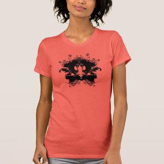 Mancha de tinta tee shirt